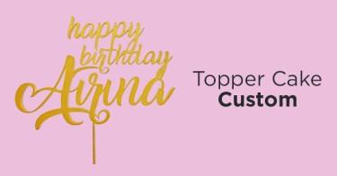 Topper Cake Custom