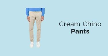Celana Chino Cream