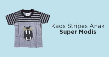 Kaos Stripes Anak