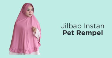 Jilbab Instan Pet Rempel