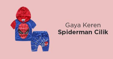 Outfit Spiderman Anak