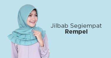 Jilbab Segiempat Rempel