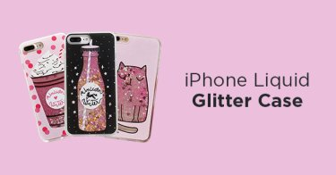 iPhone Liquid Glitter Case