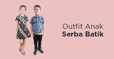 Outfit Batik Anak
