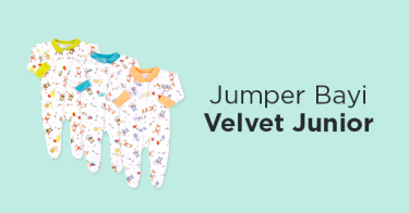 Jumper Bayi Velvet Junior