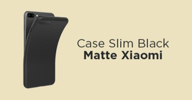 Case Slim Black Matte Xiaomi