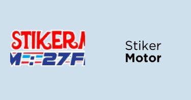 Stiker Motor