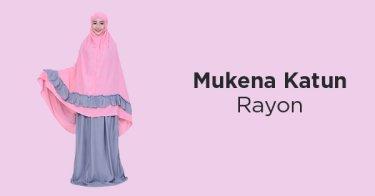 Mukena Katun Rayon