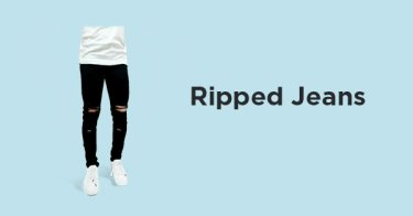 Ripped Jeans Pria