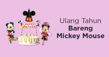 Perlengkapan Ulang Tahun Mickey Mouse