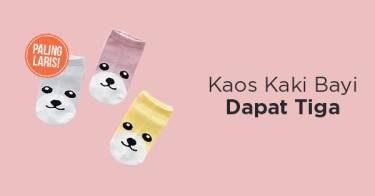 Kaos Kaki Bayi 3-in-1