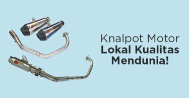 Knalpot Motor CLD