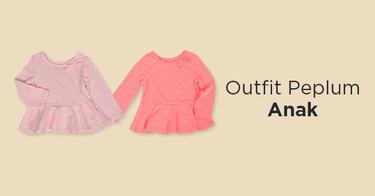 Outfit Peplum Anak