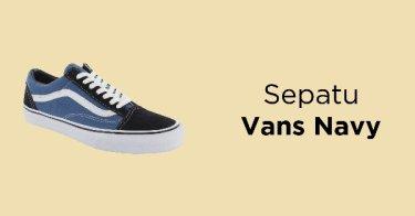 a122c759a555 Jual Sepatu Vans Navy - Beli Harga Terbaik