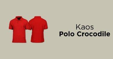 Kaos Polo Crocodile
