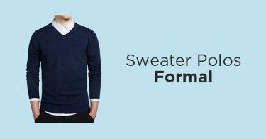 Sweater Polos Pria