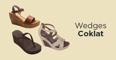Wedges Coklat