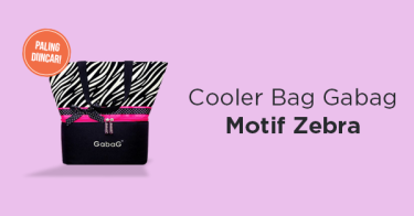 Cooler Bag ASI Gabag Zebra