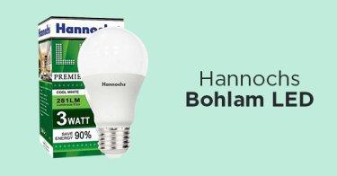 Hannochs LED Bohlam 3 Watt
