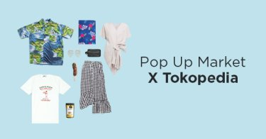 Pop Up Market x Tokopedia