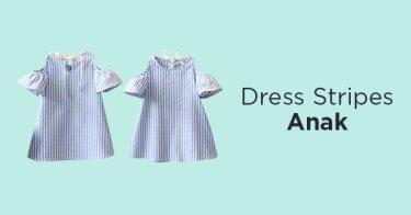 Dress Stripes Anak