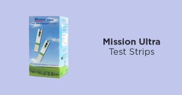 Mission Ultra Test Strips