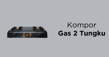 Kompor Gas 2 Tungku