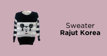 Sweater Rajut Korea