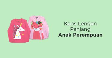 Kaos Lengan Panjang Anak Perempuan