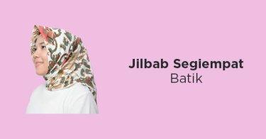 Jilbab Segiempat Batik