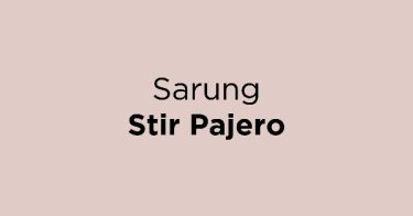 Sarung Stir Pajero