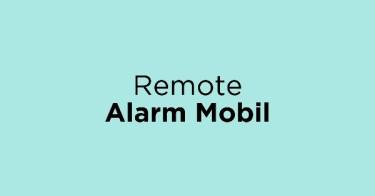 Remote Alarm Mobil