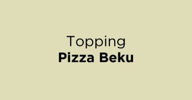 Topping Pizza Beku