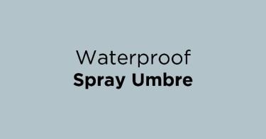 Waterproof Spray Umbre