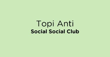 Topi Anti Social Social Club