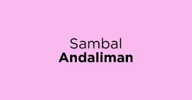 Sambal Andaliman
