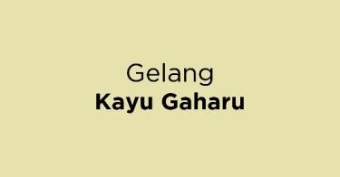 Gelang Kayu Gaharu
