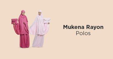 Mukena Rayon Polos