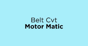 Belt Cvt Motor Matic
