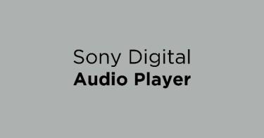 Sony Digital Audio Player