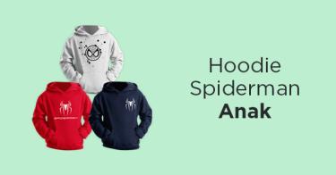 Hoodie Spiderman Anak