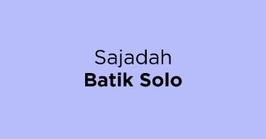 Sajadah Batik Solo