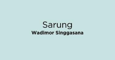 Sarung Wadimor Singgasana