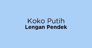 Koko Putih Lengan Pendek