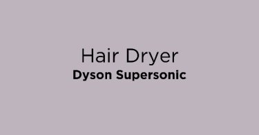 Hair Dryer Dyson Supersonic