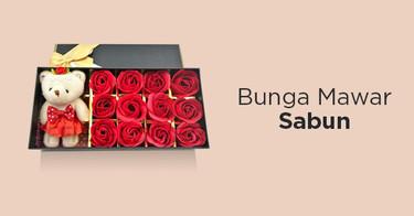 Bunga Mawar Sabun