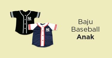 Baju Baseball Anak