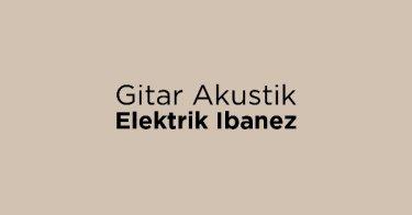 Jual Gitar Akustik Elektrik Ibanez