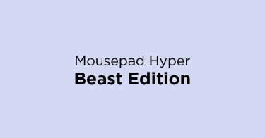 Mousepad Hyper Beast Edition