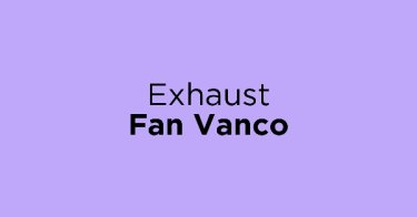 Exhaust Fan Vanco